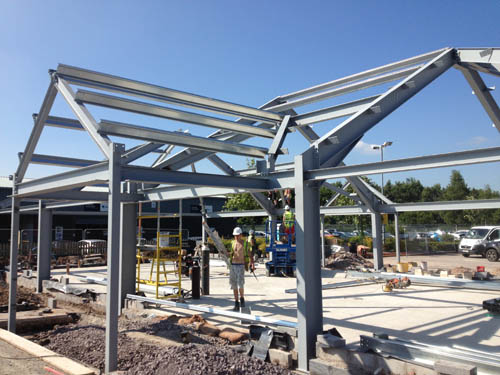 Examples Of Steel Frame Buildings : Recent project examples